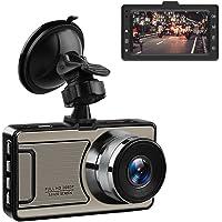 """Favoto Dash Cam 12Megapixel 1920 * 1080p Telecamera per Auto 3"""" DVR HD con 170°Grandangolo G-Sensor Visione Notturna Registrazione d'Emergenza"""