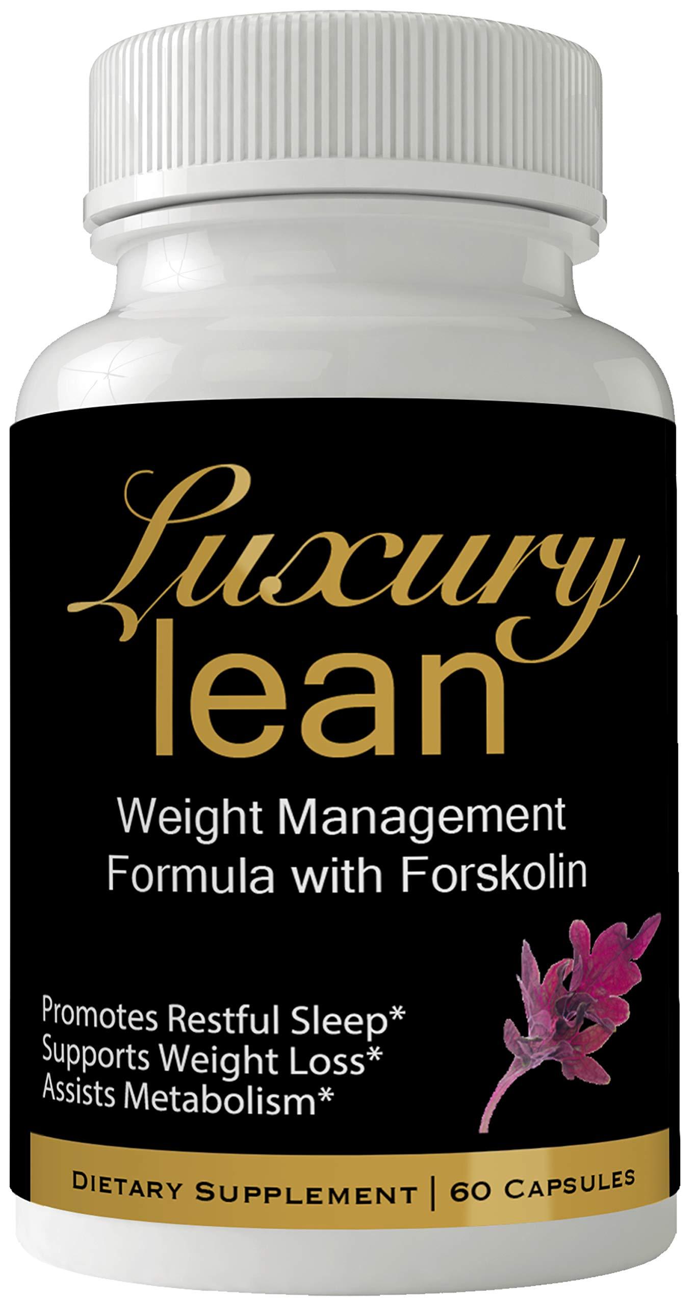 Luxury Lean Premium Forskolin for Weight Loss Coleus Forskohlii | High Level Keto Slim Formula Lean Luxury Forskalin