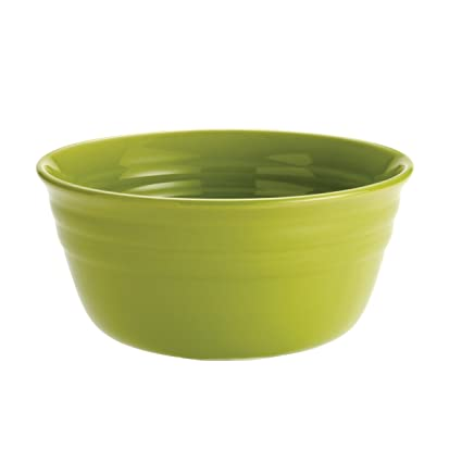 Amazon.com: Rachael Ray Dinnerware Double Ridge Cereal Bowl Set, 4 ...