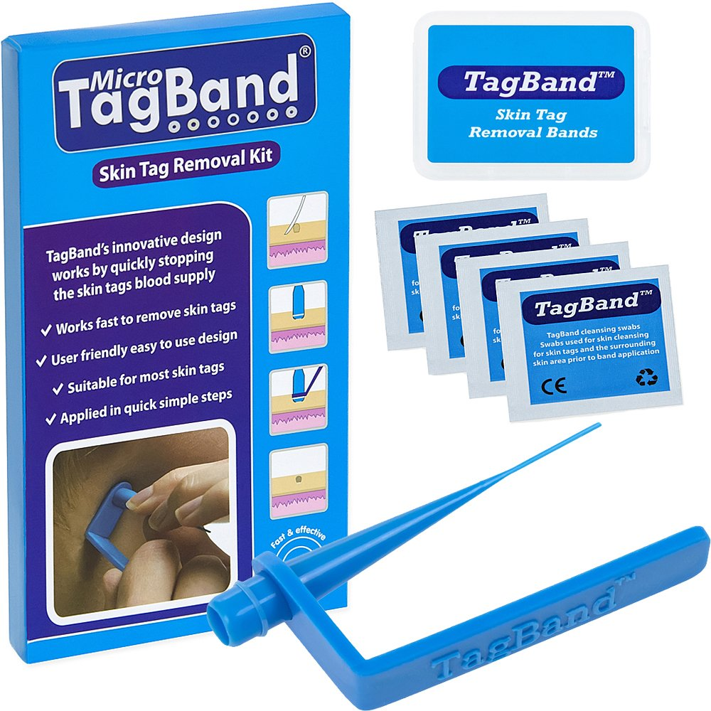Micro TagBand Skin Tag Remover Device for Small to Medium Skin Tags by TagBand