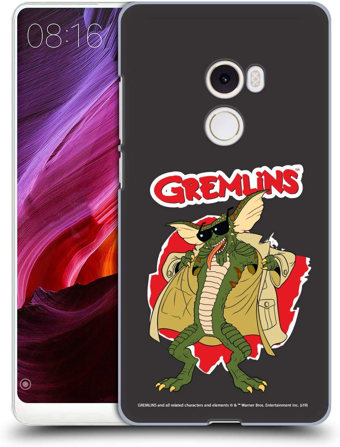Official Gremlins Flasher Graphics Hard Back Case Compatible for Xiaomi Mi Mix 2