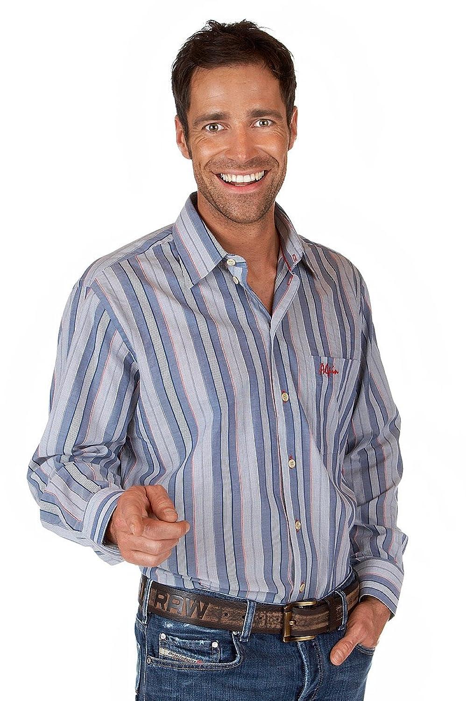 Alpensocks H052 - Herren Trachtenhemd mit langem Arm