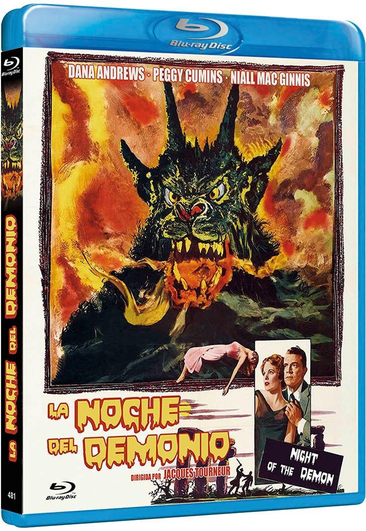 Night of the Demon Curse of the Demon Reg.A/B/C Spain