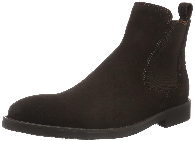 Lottusse Herren L6607 Chelsea Boots, Braun (Bucks.Moka), 45