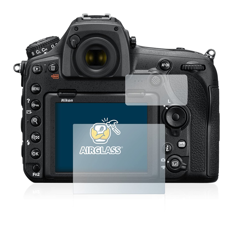 BROTECT Protection Ecran Verre Compatible avec Nikon D850 AirGlass Protecteur Vitre 9H