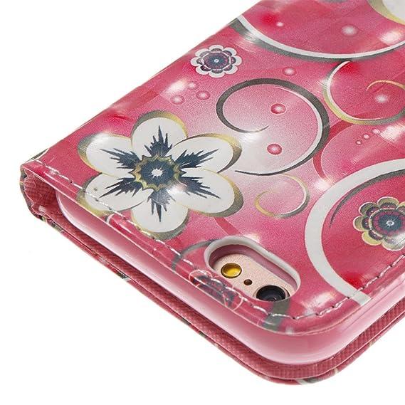 Amazon.com: Voanice - Funda para iPhone 6S (piel sintética ...