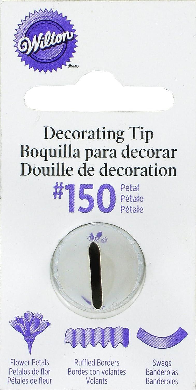Wilton, Bocchetta n° 150 per sac à poche, per creare petali decorativi Wilton Brands Inc 418-150