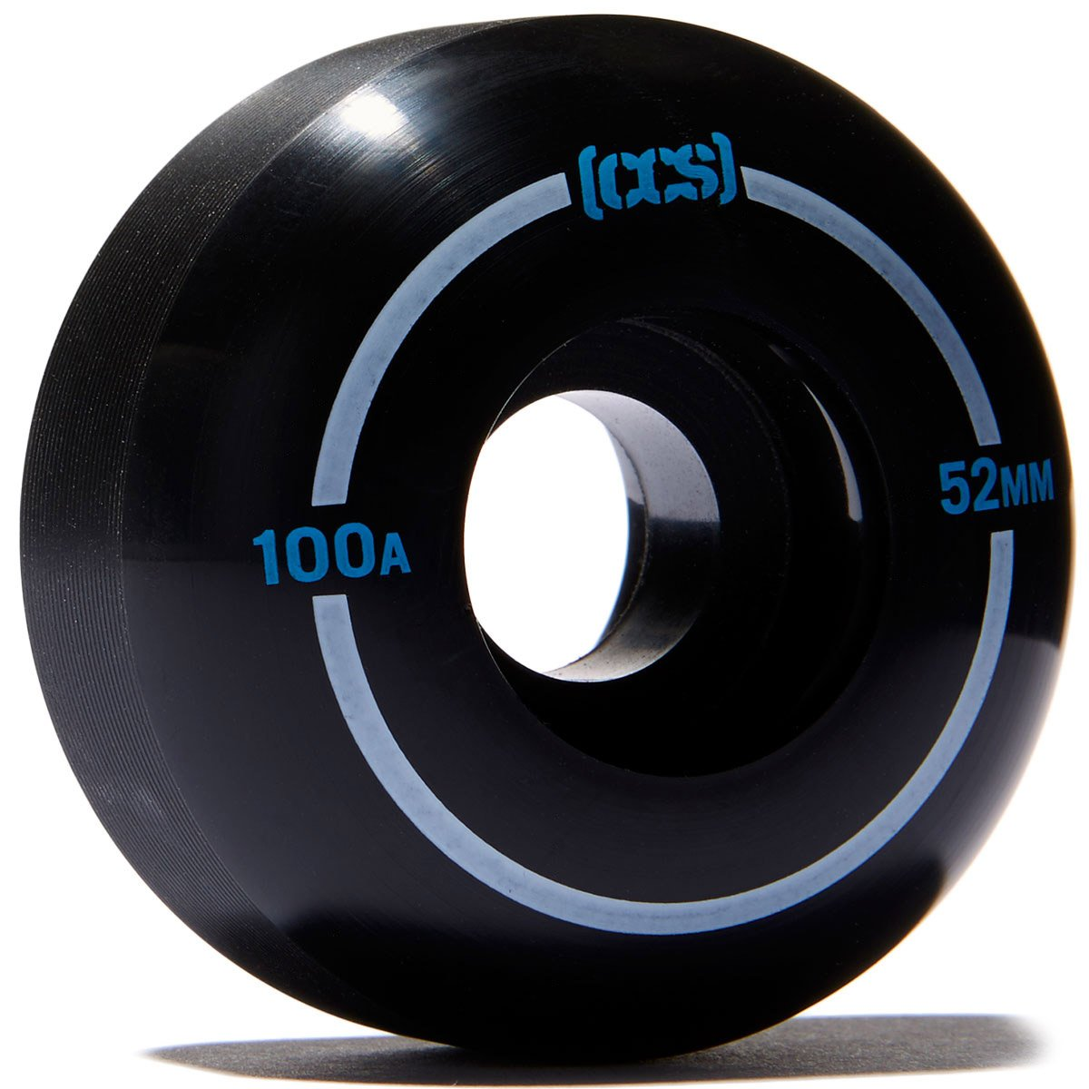 CCS Skateboard Wheels - Multiple Colors (Black, 52mm) by CCS