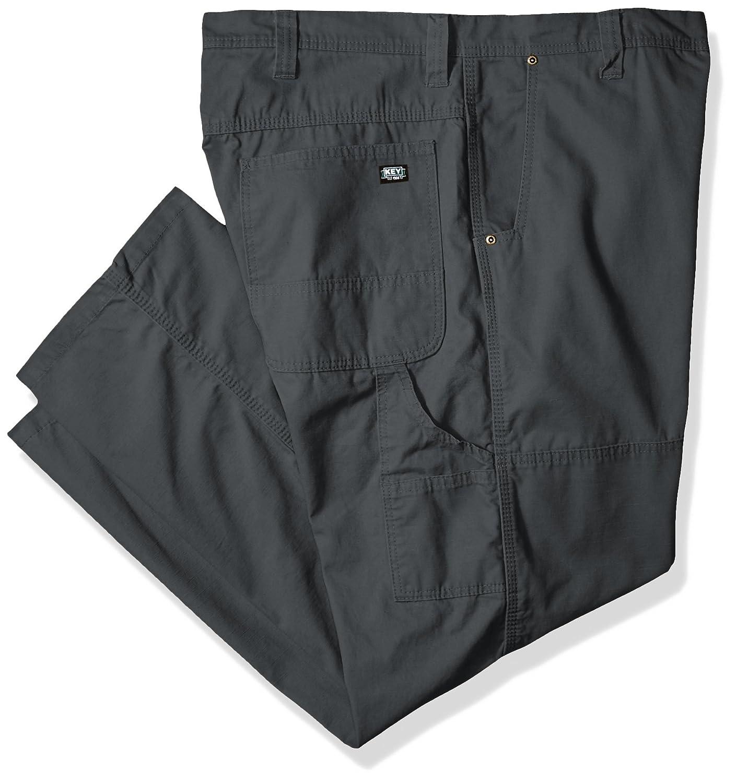 Key Apparel PANTS メンズ B01FIL5Z3M 50W x 32L|チャコールグレー チャコールグレー 50W x 32L