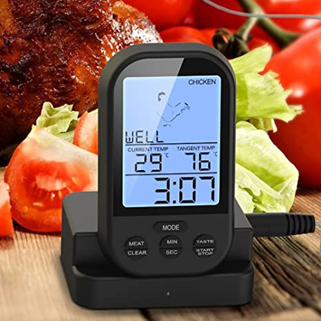 Review Wireless Remote Meat Thermometer