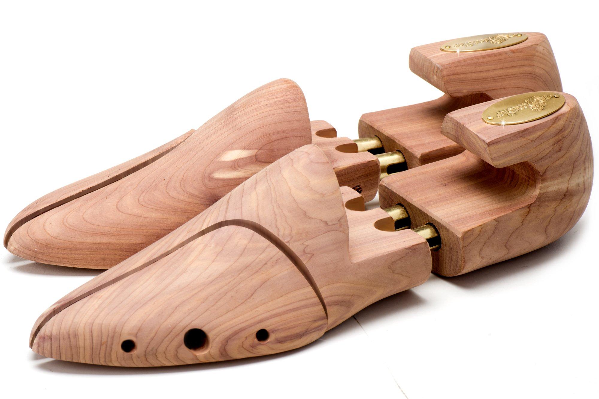 Seeadler® Hormas Premium – Edición St. John de madera de cedro canadiense para zapatos