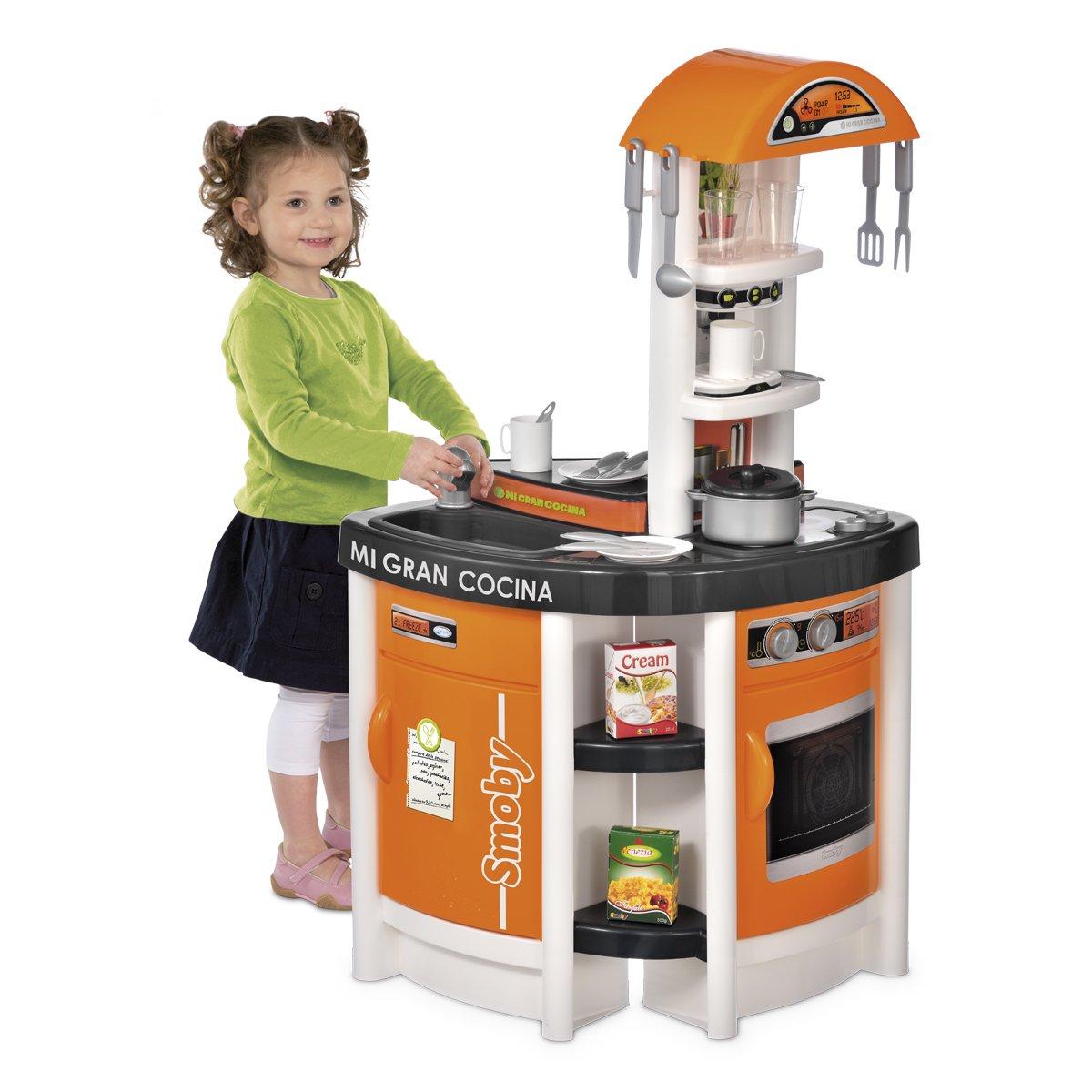 Smoby - Mi Gran Cocina (311009): Amazon.es: Juguetes y juegos