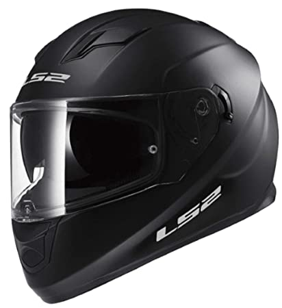 2bdc9848 Amazon.com: LS2 Stream Solid Full Face Motorcycle Helmet With ...