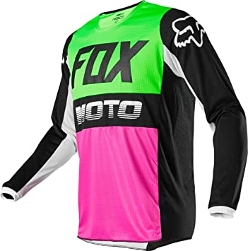 Fox Blackout Girls Jersey Sz Youth XL Black//Pink BMX