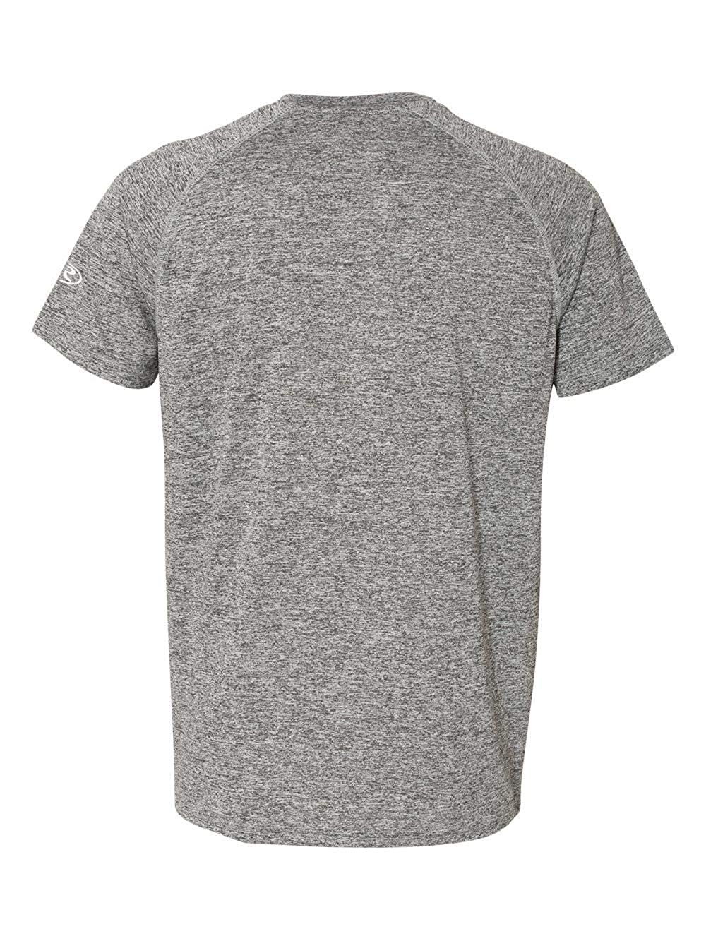 Rawlings 8101 Performance Cationic Insert Short Sleeve T-Shirt Heather Grey L