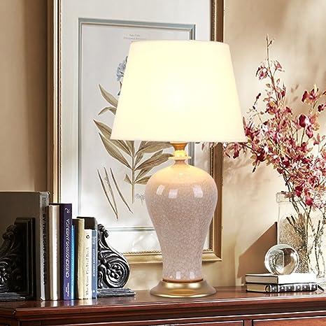 lámpara de escritorio Lámpara de mesa de cerámica - La mejor ...