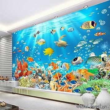Vlies Fototapeten Wandtapeten Wandbilder D Unterwasserwelt Tapete Kn Cm