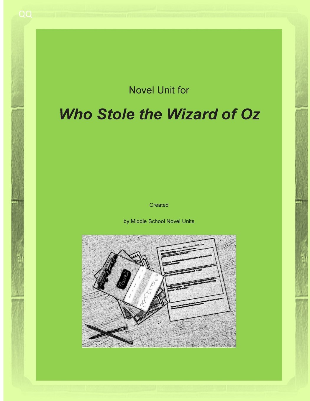 Read Online Novel Unit for Who Stole the Wizard of Oz ebook