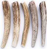 Perfect Pet Chews 5 ct Deer Antler Dog Chews All Natural Grade A Premium Antlers, Long Lasting Dog Treats, Organic Dog Chews, Naturally Shed Antlers from USA