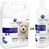 Lillian Ruff Berry Blue Brightening Face and Body Wash for Dogs and Cats - Tear Free Blueberry Shampoo - Remove Tear…