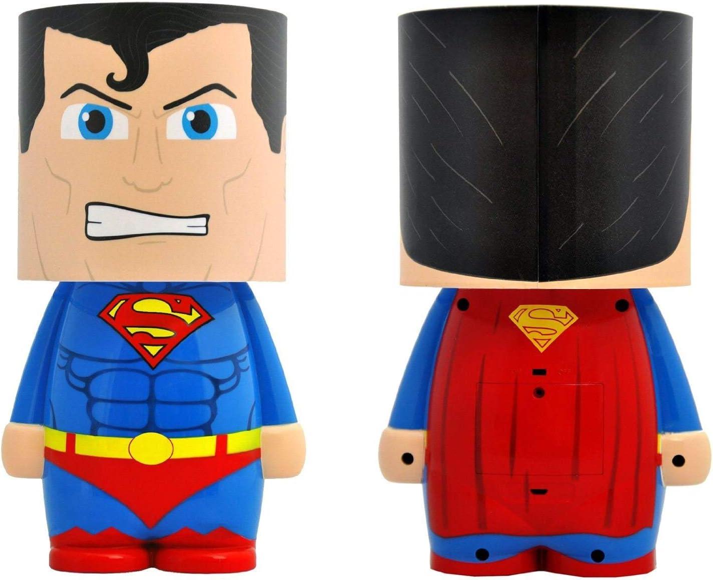 DC Comics Superman caractères 3D Lumière Officiel Comic Book Executive Lampe de bureau