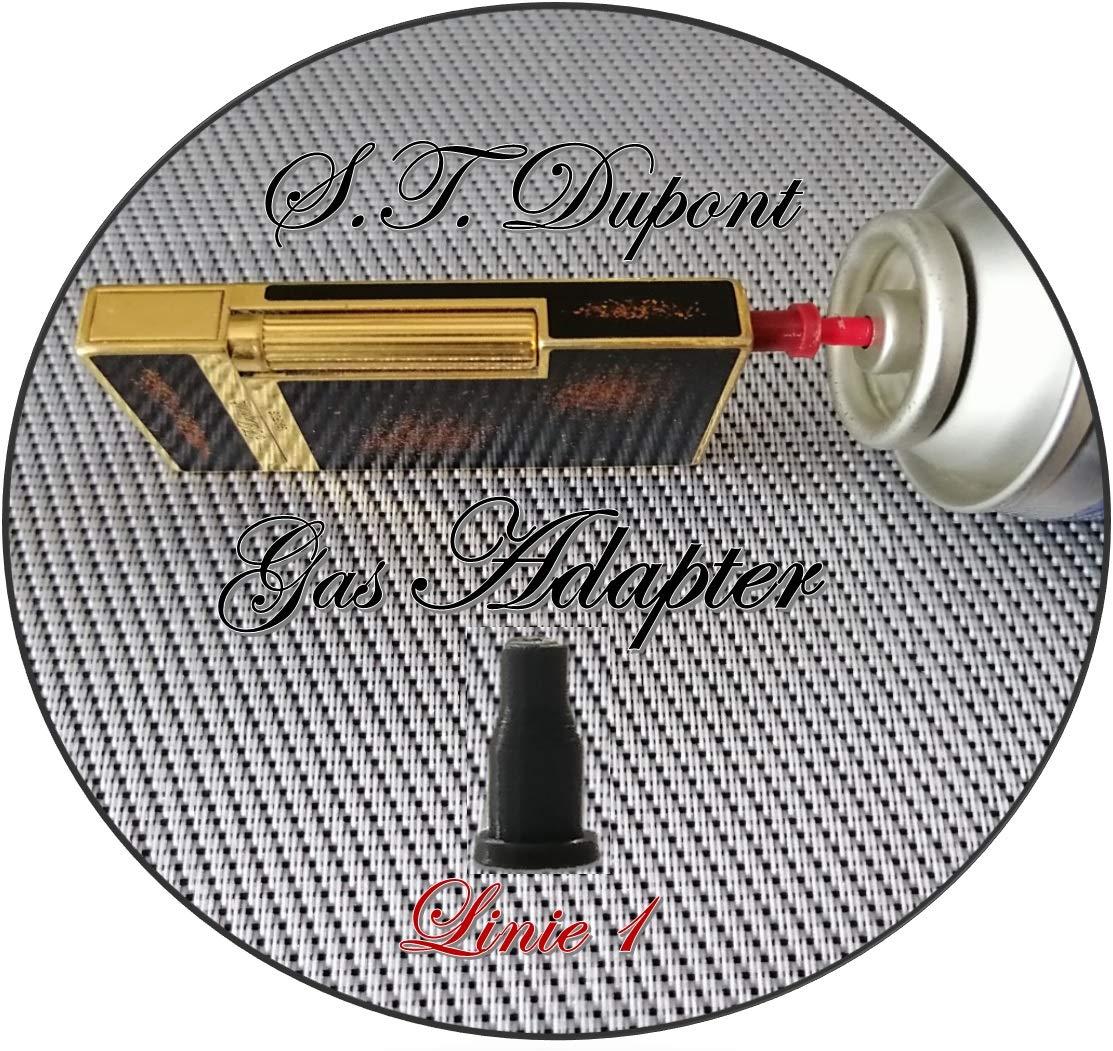 Dupont Accendini Linea 1 PowerPreise24 Set di adattatori per riempimento Gas S.T Linea 2 /& Gatsby