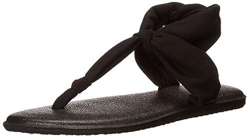 42a58302e1e Sanuk Women s Yoga Sling Ella Flip Flop  Amazon.co.uk  Shoes   Bags