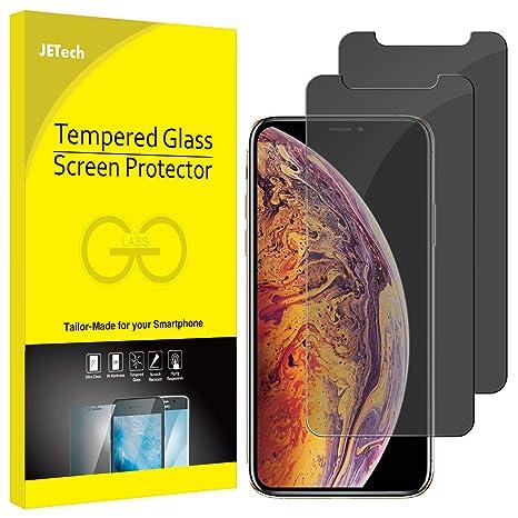 fb367042d5 JETech Privacy Pellicola Protettiva Compatible iPhone XS Max, Anti Spy in  Vetro Temperato, 6