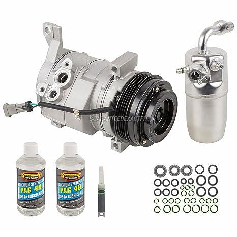 Nueva AC Compresor y embrague con completa a/c Kit de reparación para Chevy &