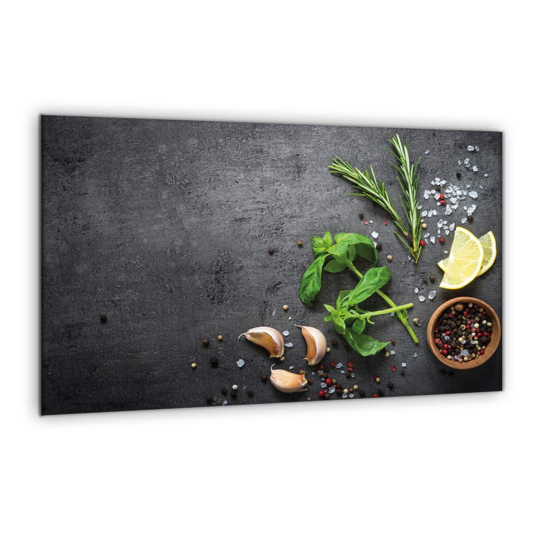 31072 furnigo Spritzschutz Universal Abdeckplatte 80 x 52 cm Schneidebrett Arbeitsfl/ächenschutz Abdeckplatte Sp/ültischabdeckung Kochplatte