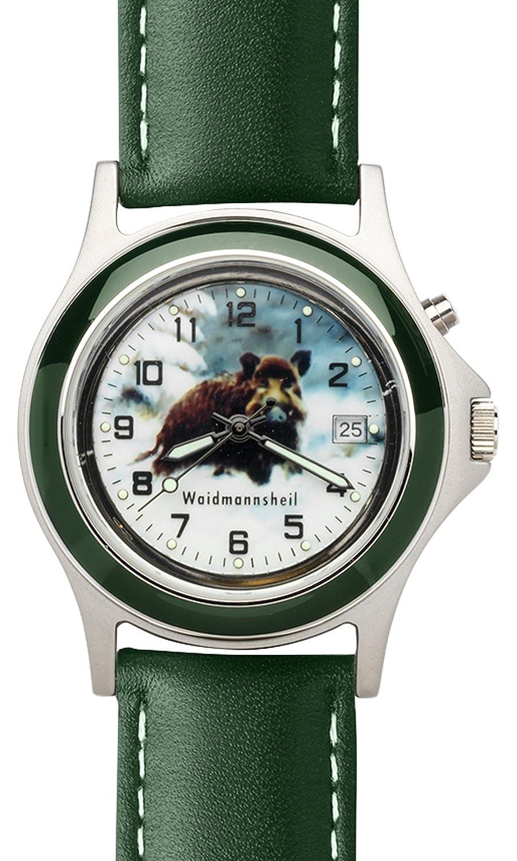 Armbanduhr Greiner 1217-S Wildschwein