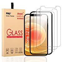 Deals on 3-Pack iAnder iPhone 12 /iPhone 12 Pro Screen Protector