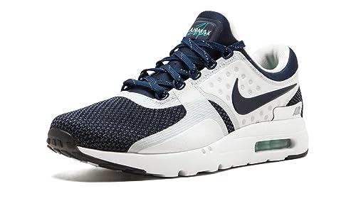 531fb0e5fc8 Nike Air Max Zero QS Color Blanco Midnight Azul Marino sintético zapatillas  de correr