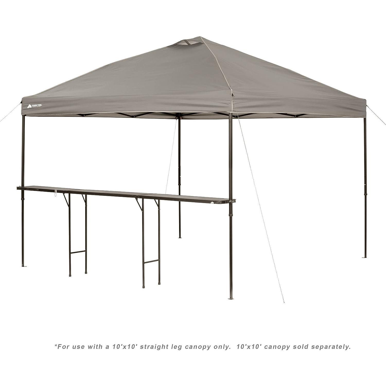 Amazon.com Ozark Trail Bar-Height 10u0027 Folding Canopy Table Office Products  sc 1 st  Amazon.com & Amazon.com: Ozark Trail Bar-Height 10u0027 Folding Canopy Table ...