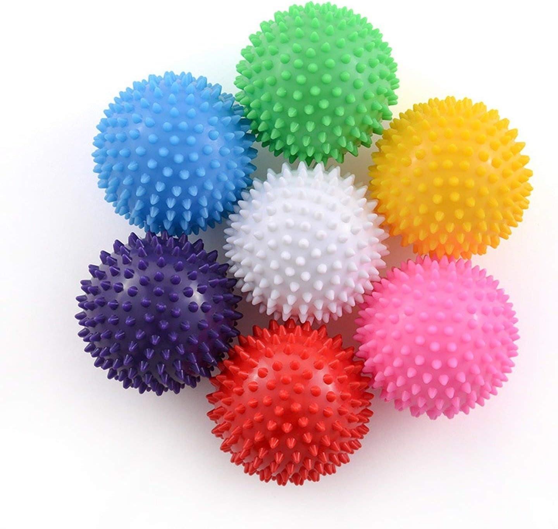 Massage Ball Fitness PVC Hand Soles Hedgehog Sensory Training Grip Physiotherapy