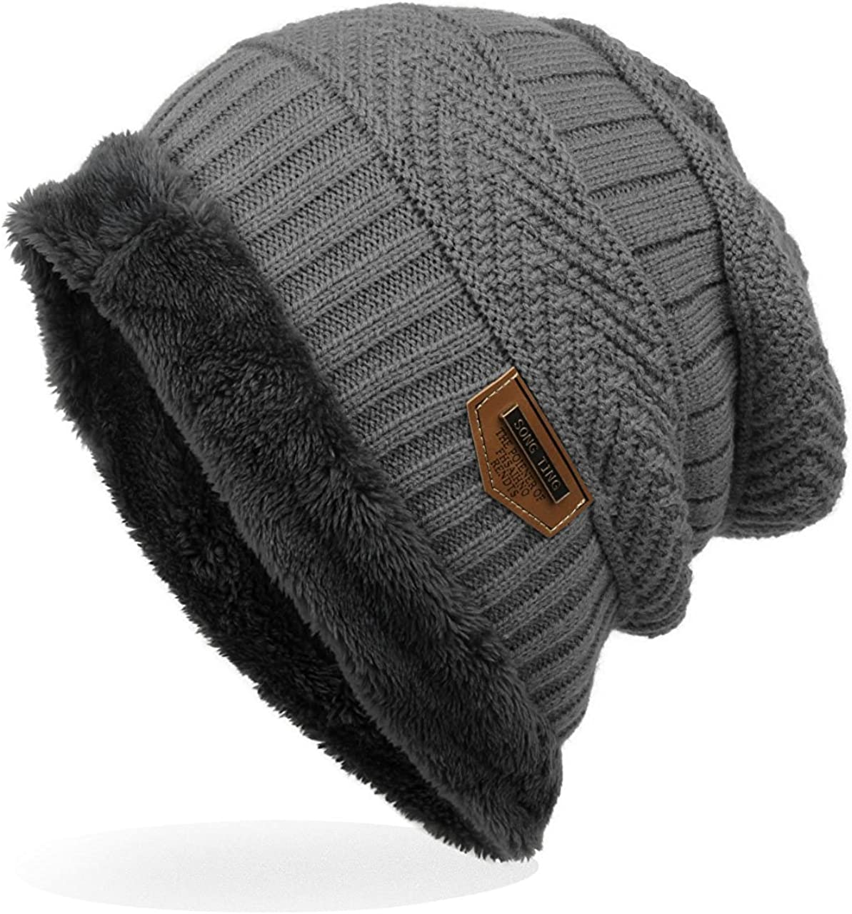 in God We Trust Unisex Warm Winter Hat Knit Beanie Skull Cap Cuff Beanie Hat Winter Hats