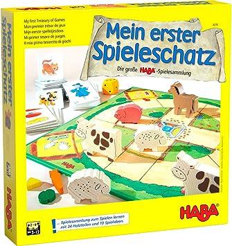 Haba Mi primer tesoro de juegos La gran colección de juegos de HABA (en alemán): Amazon.es: Juguetes y juegos