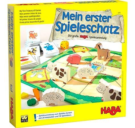 HABA 4170 Obstgarten - Juego de mesa con dados y frutas [Importado de Alemania]: Haba: Amazon.es: Juguetes y juegos