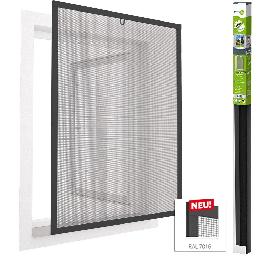 Mosquitera para ventana de aluminio Mosquitera Ventana 80 x 100 cm Easyline - kürzbar: Amazon.es: Bricolaje y herramientas