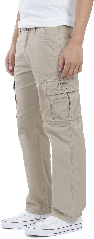 Unionbay Men/'S Survivor Iv Relaxed Fit Cargo Pant-Reg Big Tall Sizes