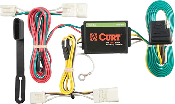2004 elantra wiring harness amazon com curt 56126 vehicle side custom 4 pin trailer wiring  amazon com curt 56126 vehicle side