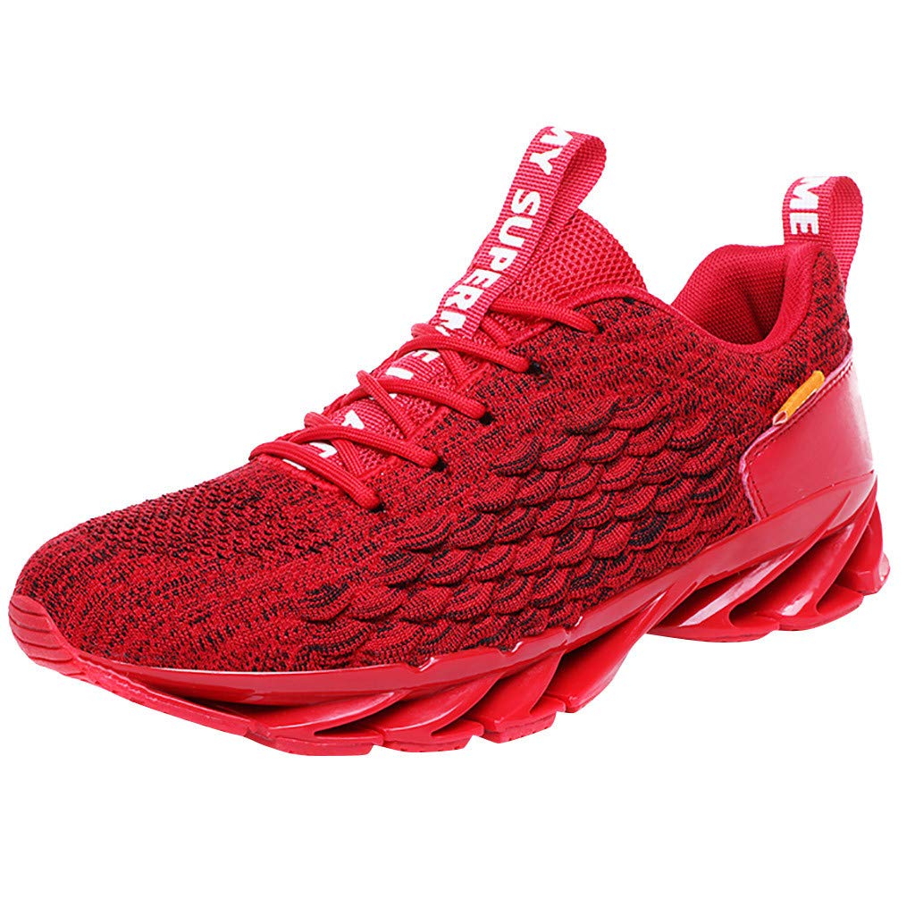 Men Outdoor Sports Running Shoes Non-Slip Breathable Sneakers Lightweight Athletic Jogging Hiking Shoes Daorokanduhp by Daorokanduhp Shoes