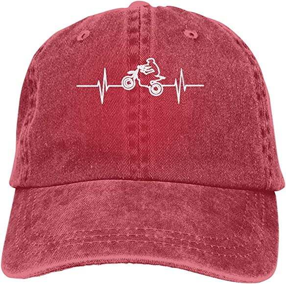 Heartbeat Unisex Trendy Cowboy Hat Casquette Adjustable Baseball Cap