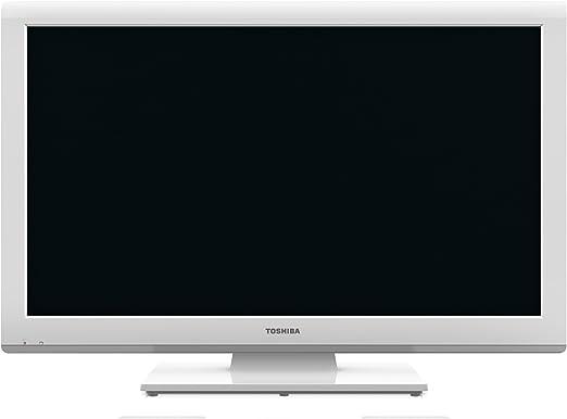 Toshiba 23DL934G - Televisión LED de 23 pulgadas Full HD (100 Hz) color blanco: Amazon.es: Electrónica