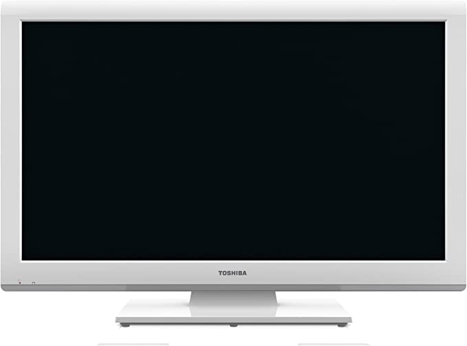 Toshiba 23DL934G - Televisión LED de 23 pulgadas Full HD (100 Hz) color blanco: Amazon.es: Electrónica