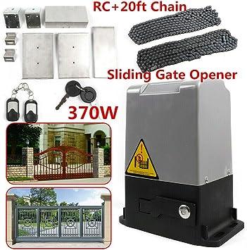 Aboyia - Sistema de apertura de puerta eléctrica (16 Nm, tracción de puerta corredera, 600 kg, 66 r.p.m.): Amazon.es: Bricolaje y herramientas