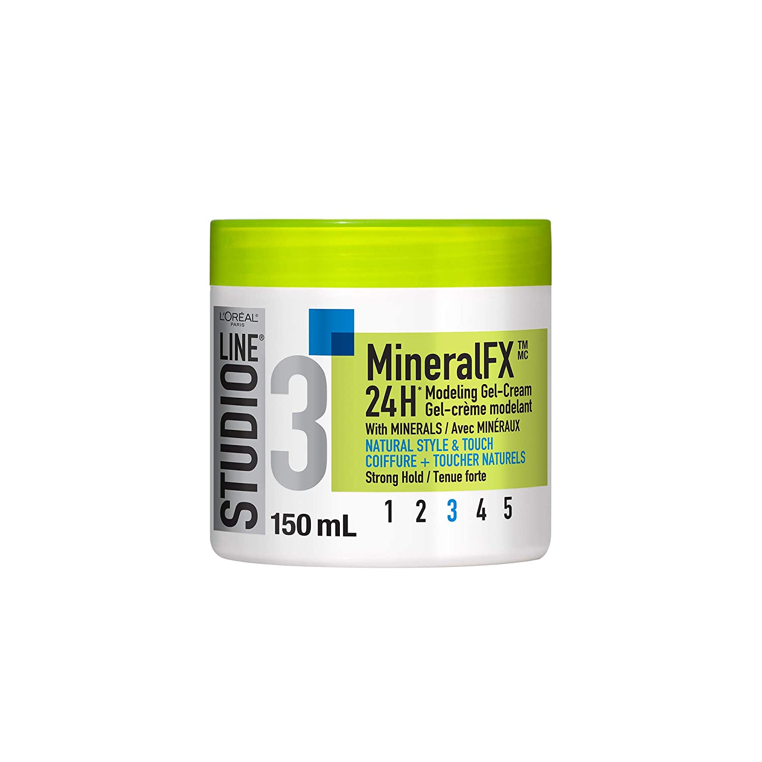 L'Oreal Paris Studio Line Mineralfx 24h Flexible Hold Gel-Cream, 150-Milliliter L' Oreal Paris