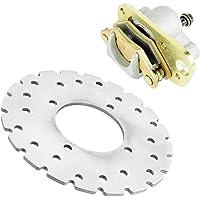 Caltric compatible with Rear Brake Rotor Disc Yamaha Kodiak 450 YFM450F 2005-2006 1D9-F5831-00-00