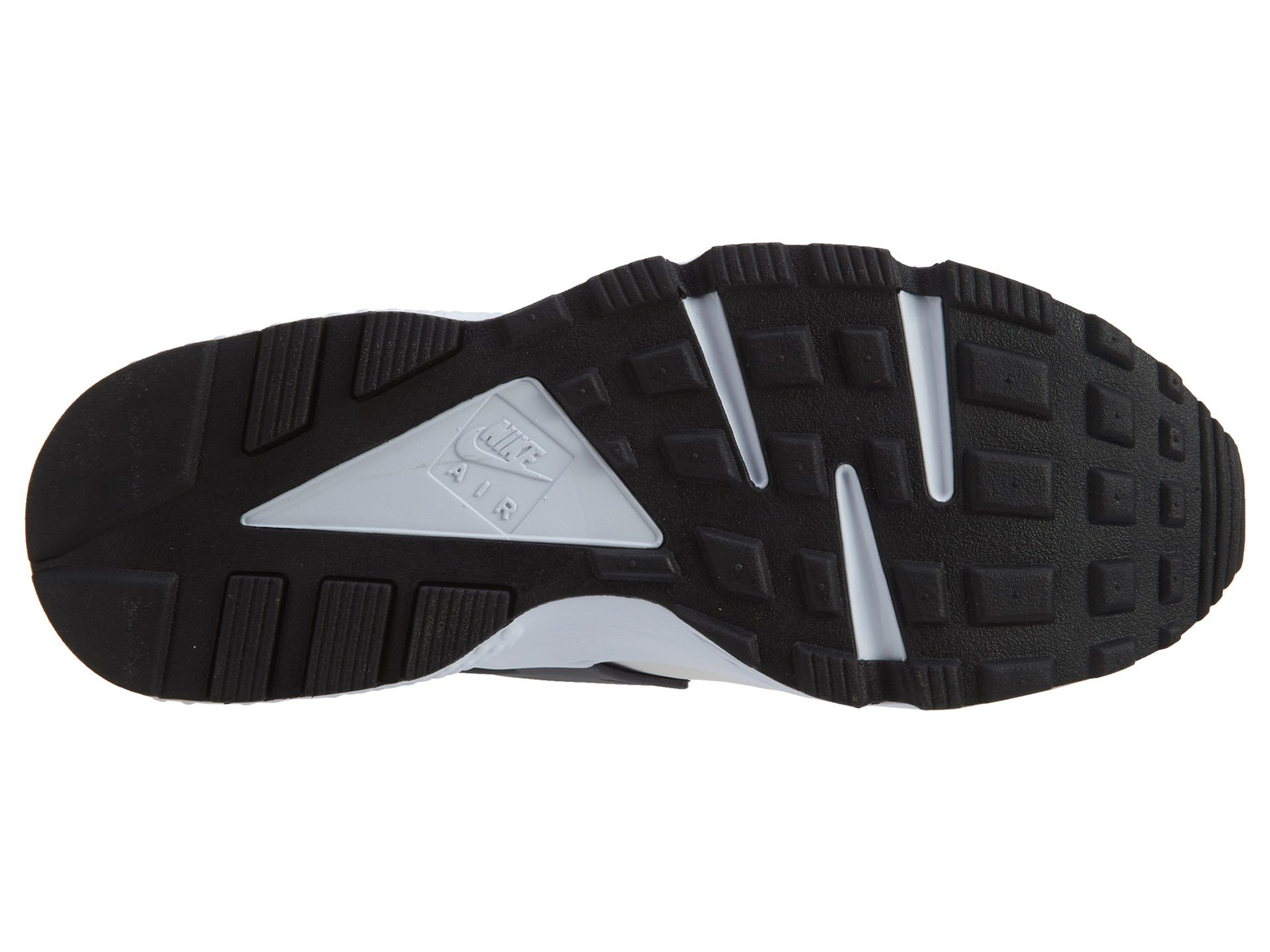 Nike Men's Air Huarache Actn Green/Vvd Orng Phntm Wht Running Shoe 10.5 Men US by NIKE (Image #7)