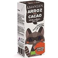 AMANDIN Bebida Ecológica de Arroz Con Cacao 200